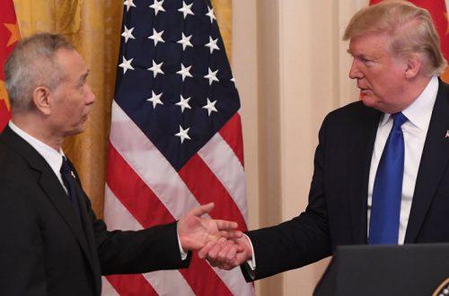 США и Китай подписали первый этап крупнейшей в истории  торговой сделки