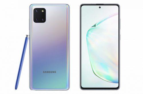 Недорогой Samsung Galaxy Note10 Lite со стилусом представлен официально