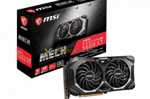 MSI включит в серию 3D-карт Radeon RX 5600 XT Mech разогнанную модель