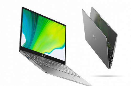 Новые ноутбуки Acer Swift 3 получили процессоры Intel Core i7 и AMD Ryzen