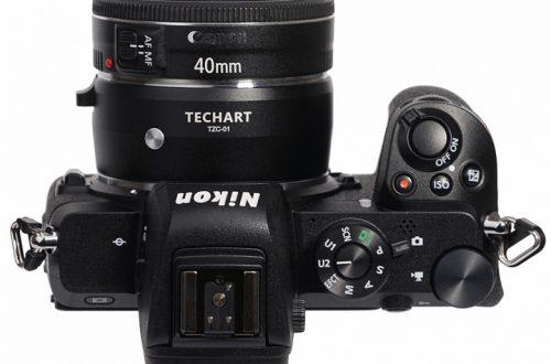 Адаптер Techart TZC-01 позволяет использовать объективы с креплением Canon EF с камерами Nikon Z