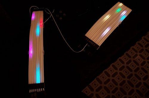 Кабель питания Lian Li Strimer Plus украшен подсветкой RGB на 120 светодиодах