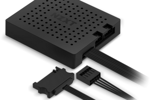 У контроллера NZXT RGB & Fan Controller есть два канала для RGB-подсветок и три канала для вентиляторов