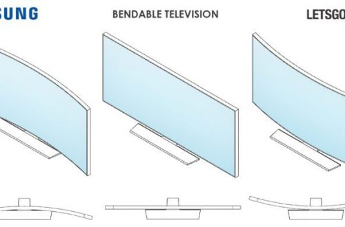 Samsung создала первый гибкий телевизор