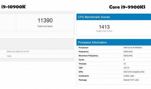Если вы не можете загрузить все ядра процесса, то переход с Intel Core i9-9900KS на Core i9-10900K начисто лишен смысла