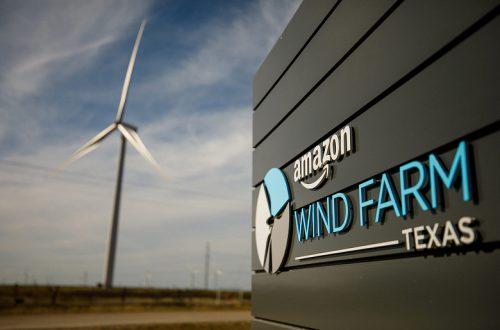 Amazon продолжает инвестировать в ветряные и солнечные электростанции