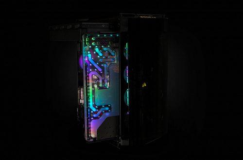 Агрегат EK-Quantum Reflection Obsidian 1000D D5 PWM D-RGB поддерживает подключение до двух водоблоков CPU, до пяти водоблоков GPU и до двух радиаторов