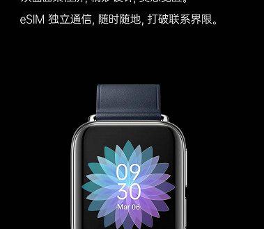 Умные часы Oppo с датчиком ЭКГ и функцией звонков поддерживают технологию eSIM