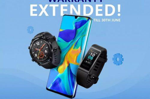 Huawei продлила гарантию на смартфоны, часы, наушники и зарядные устройства