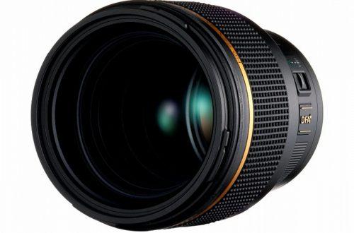 Анонсирована разработка объектива HD Pentax-D FA*85mmF1.4 SDM AW