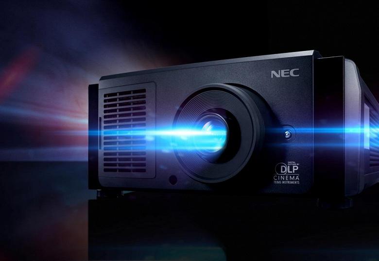 NEC представила самый тихий цифровой кинопроектор для средних помещений