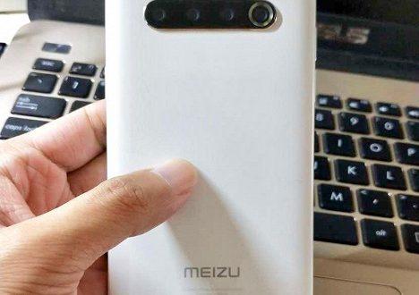 Так выглядит Meizu 17. Реальное фото смартфона подтвердило дизайн устройства