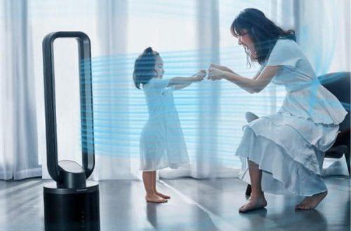 Xiaomi представила безлопастной вентилятор