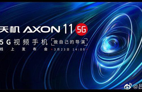 ZTE Axon 11 порадует поклонников мобильного фото и видео