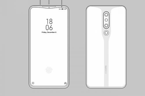 Xiaomi придумала, как уменьшить вырез экрана
