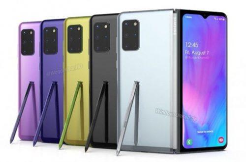 Складной флагман Samsung Galaxy Fold 2 похож на Huawei P40 Pro+ на новых рендерах