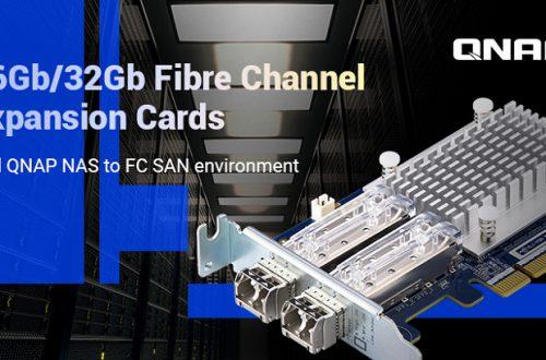 Компания QNAP представила двухпортовые сетевые адаптеры Fibre Channel QXP‑16G2FC и QXP‑32G2FC