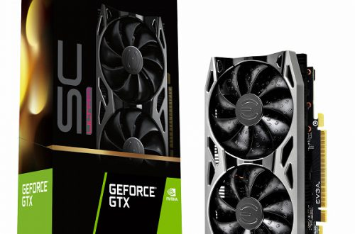 Графический процессор видеокарты EVGA GeForce GTX 1650 SC Ultra Gaming GDDR6 разгоняется до 1710 МГц