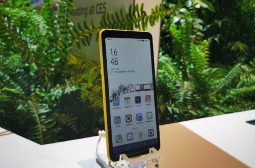 Первый в мире смартфон с цветным дисплеем на электронных чернилах выходит 23 апреля