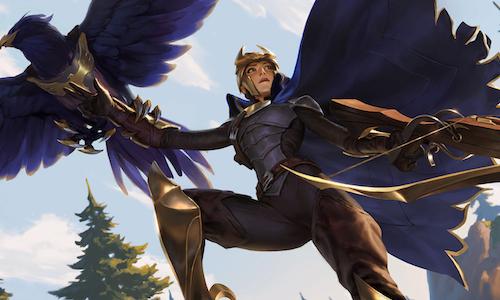 Квинн появилась в Legends of Runeterra