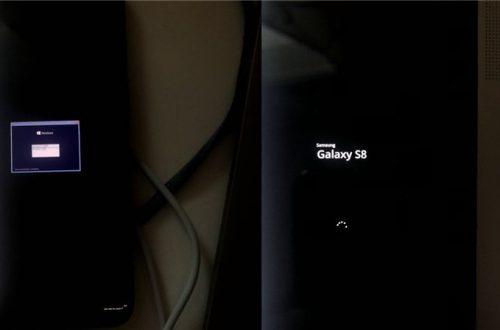 Windows 10 установили на Samsung Galaxy S8