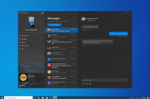 Чтобы меньше отвлекаться на работе. Microsoft научила компьютеры Windows 10 управлять музыкой на смартфоне