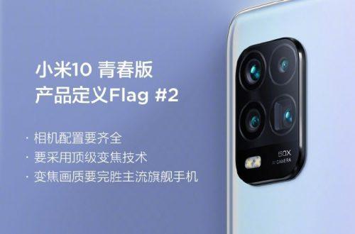 Недорогой смартфон Xiaomi Mi 10 Youth Edition заткнет за пояс лучшие флагманы своей камерой