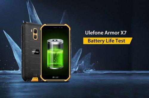Сколько работает современный защищенный смартфон без подзарядки? Тест Ulefone Armor X7