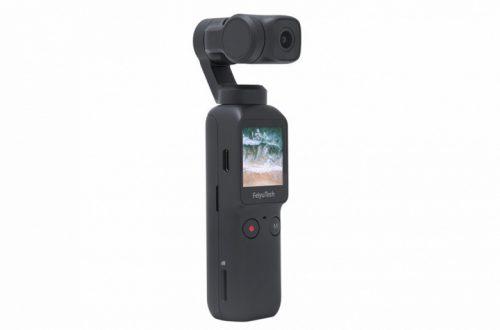 Камера FeiyuTech 4K Feiyu Pocket очень напоминает DJI Osmo Pocket, но стоит на 120 долларов меньше