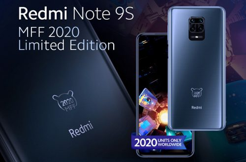 Представлен смартфон Redmi Note 9S MFF 2020 Limited Edition