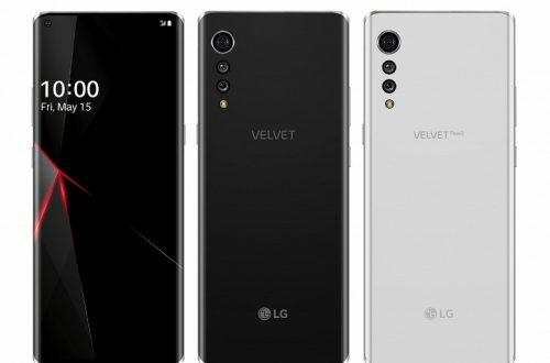 Так выглядит первый смартфон LG в дизайнерской линейке Velvet