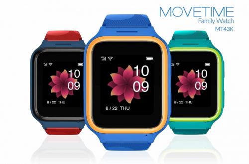 Представлены яркие и функциональные умные часы TCL Movetime Kids Watch MT43K