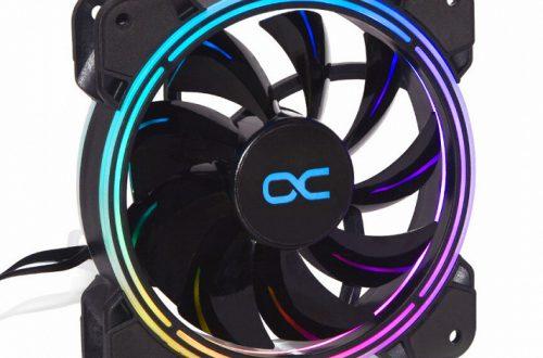 Вентилятор Alphacool Eiszyklon Aurora Lux Pro 2 Digital RGB украшен адресуемой подсветкой