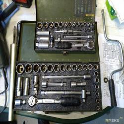 Как изготовить ложементы для инструмента, купив 3Д принтер. Из коробки.