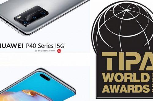 Huawei P40 Pro назвали лучшим камерофоном на церемонии TIPA World Awards 2020