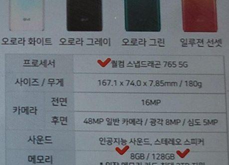 Смартфон LG Velvet не станет заменой флагманскому G8 ThinQ – это модель среднего уровня на Snapdragon 765G