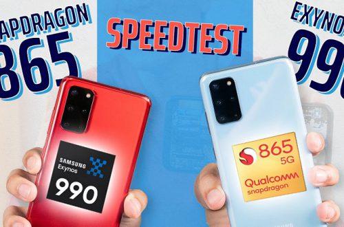 Samsung продолжает делать вид, что Exynos 990 ничем не хуже Snapdragon 865