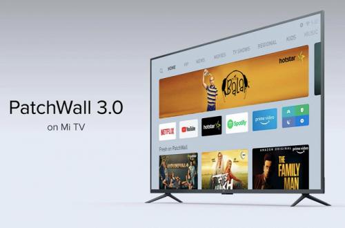 Умные телевизоры Xiaomi получили операционную систему PatchWall 3.0
