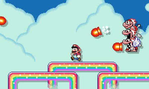 Обновление Super Mario Maker 2 позволяет создать целые миры