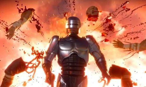 Тизер кастомизации Робокопа из Mortal Kombat 11: Aftermath