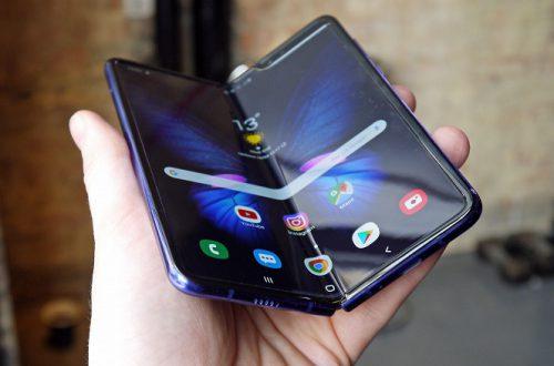Новый гибкий Samsung Galaxy Fold по цене обычного смартфона