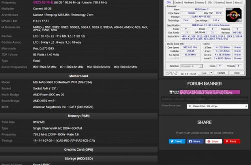 5,9 ГГц для 100-долларового процессора AMD. Ryzen 3 3100 показал отличные оверклокерские способности