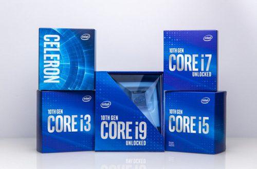 Процессор Intel Core i9-10900K может потреблять до 250 Вт