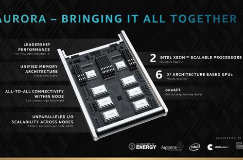 Монструозный шестичиповый GPU и два процессора Xeon. Появились подробности о суперкомпьютере Aurora на компонентах Intel