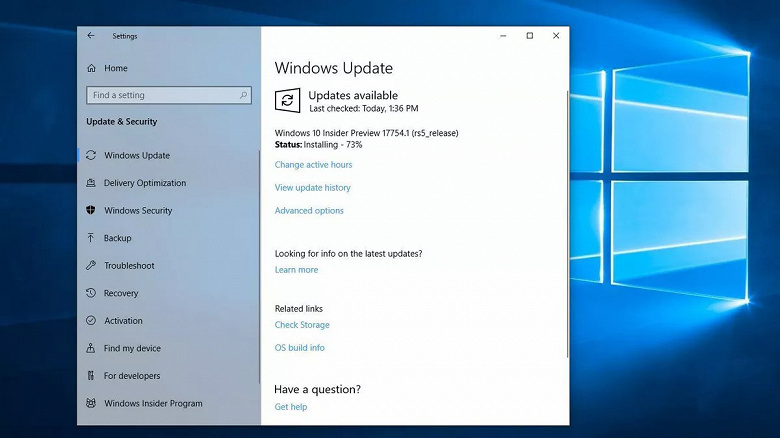 Microsoft начала раскрывать секреты следующей версии Windows 10