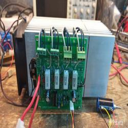 Самодельная электронная нагрузка 200W на основе компонентов с АлиЭкспресс