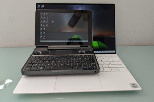 В Сети появился первый обзор «карманного» геймерского ноутбука GPD Win Max
