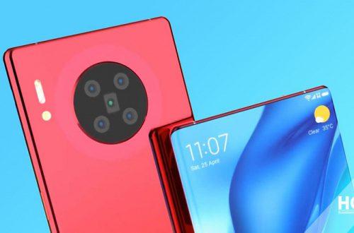 2020 — год смартфонов с подэкранными камерами? Huawei тоже в деле