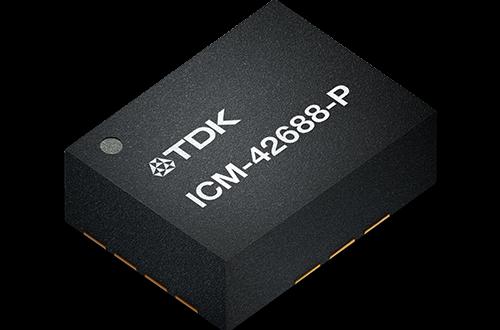 TDK выпускает комбинированный датчик движения InvenSense ICM-42688-P размерами 2,5 х 3 х 0,9 мм