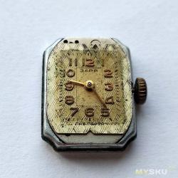 Часовой калибр Заря 1601. Репассаж.